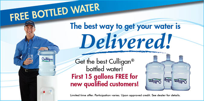 Bottled Water Delivery Offer