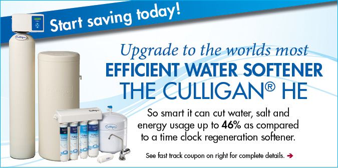 Culligan HE Water Softener